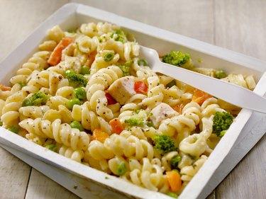 Microwave Dinner -Pasta Primavera