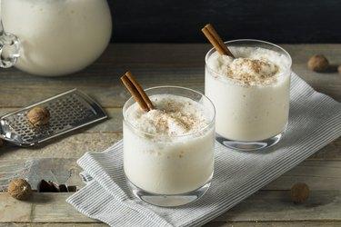 Homemade Frozen Bourbon Milk Punch