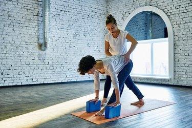 Trusting yoga trainer