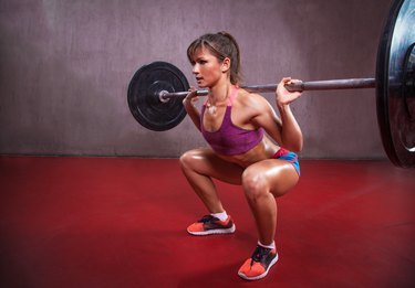 Which Muscles are Used While Squatting with Weights?