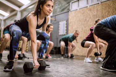 Team Weightlifting Warm Up Exercises