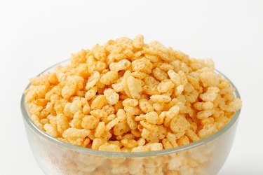 Rice Krispies in a bowl