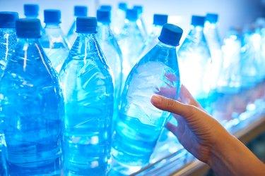 Buying bottle of water