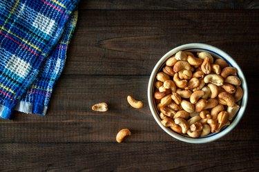 Roasted cashews acne
