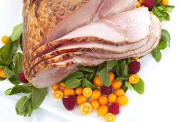 Holiday Roasted Sliced Ham