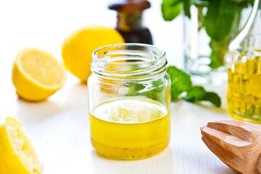 Homemade Lemon and olive oil