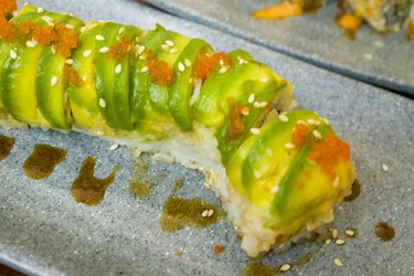 Tempeh Avocado Sushi Vegan Sushi Recipe