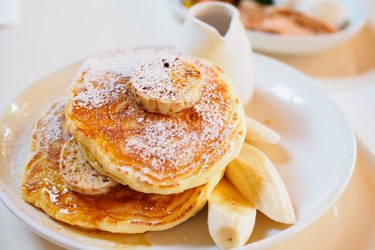 Banana recipes like banana pancakes