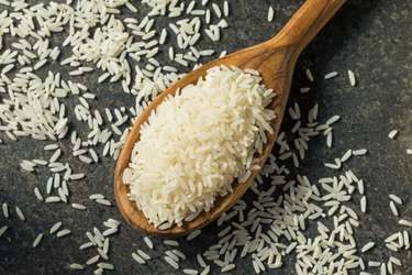 Dry White Long Grain Jasmine Rice