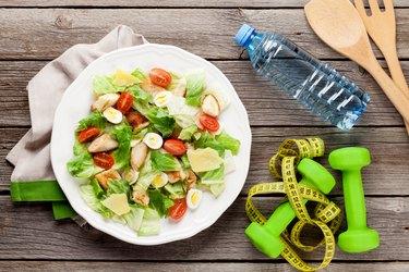 Fresh healthy diet salad