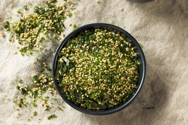 Dry Organic Japanese Furikake Rice Seasoning seaweed nutrition