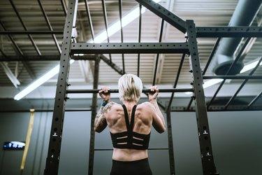 Female Trainer At Cross Training Gym