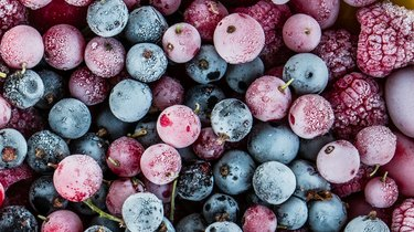 freezer burn frozen berries