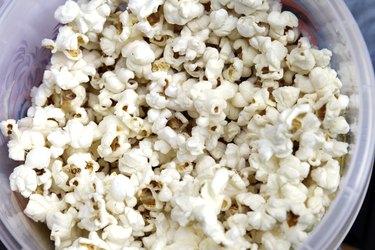 Popcorns In Bowl