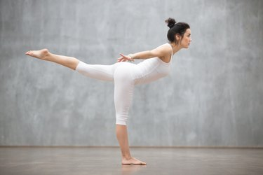 Beautiful Yoga: Virabhadrasana three pose