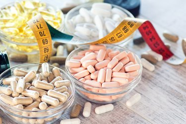 Nutritional supplements in capsules and tablets
