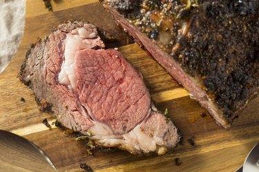 Roasted Boneless Prime Beef Rib Roast