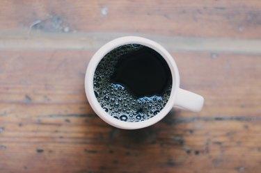 Fresh Cup of Black Coffee