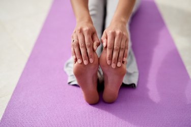 Keeping supple and lithe with yoga