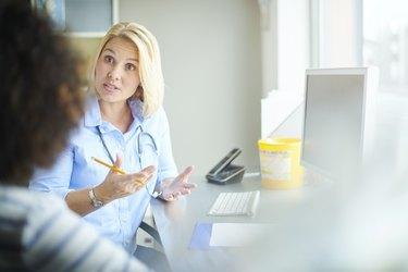 female doctor consultation