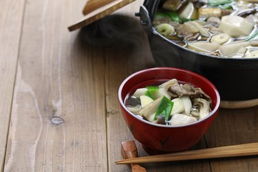 imoni, japanese hotpot cooking