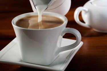 Coffee and half and half