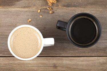 coffee concept coffee cups