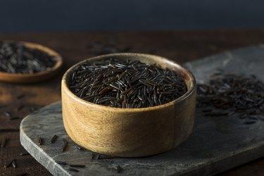 Organic Dry Black Wild Rice