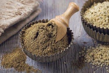 Gluten free hemp protein