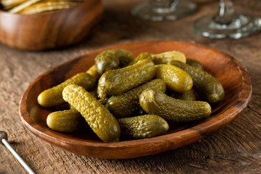 sodium-rich Baby Dill Pickles