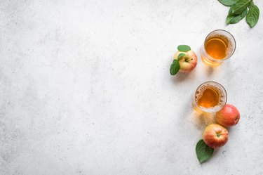 Cider vinegar drink