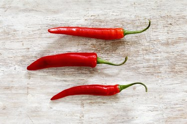 Are Hot Peppers Good for You? These are chili pods
