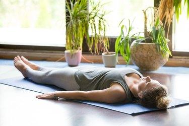 Yoga at home: Savasana Pose