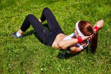 Training outdoors