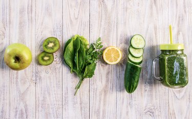apples, kiwis, herbs, lemons and cucumbers are all zero-point foods on Weight Watchers.