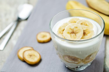 Yogurt and bananas are two high potassium foods to avoid if you have high potassium levels.