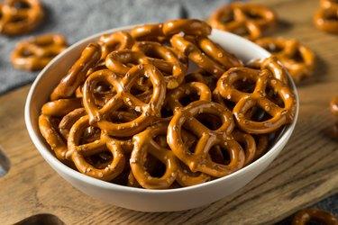 Salty Crunchy Pretzel Crackers