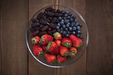 Mixed Berries in Bowl