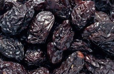 closeup image of prunes
