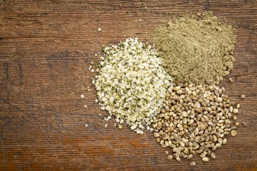 hemp seed and protein powder