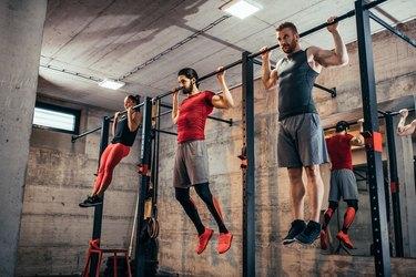 P90X Legs Back Workout List