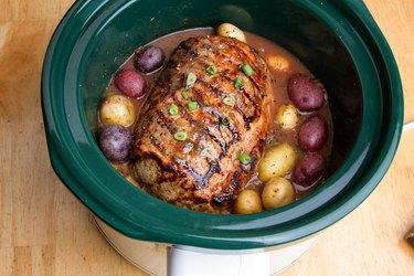 Delicious Pot Roast Dinner in a Crock Pot