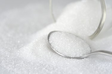 Close-Up Of Spoon In Sugar