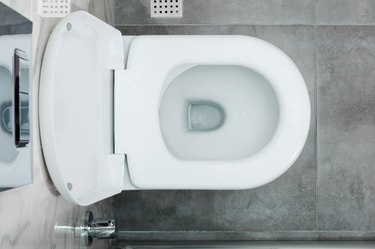top view of a Toilet bowl