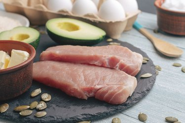 Concept of ketogenic diet