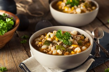 Hot Homemade White Bean Chicken Chili