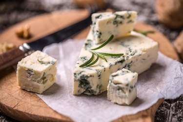French Roquefort cheese