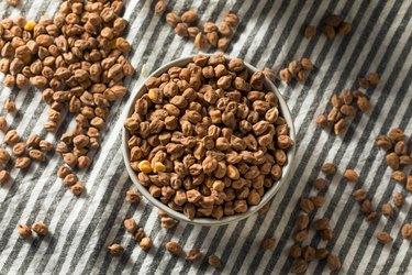 Dry Organic Kala Chana Desi Chickpeas