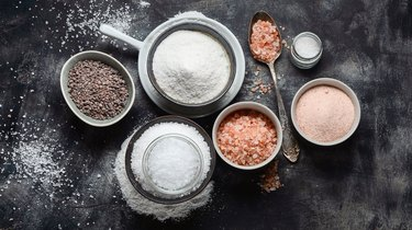 Different salt  types