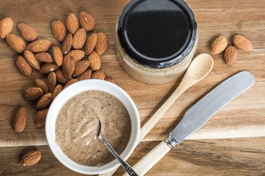 Almonds and Almond Nut Butter